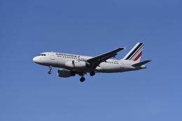 航空フォト:F-GRHV エールフランス航空 A319
