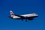 Frankspotterさんが、ロンドン・ヒースロー空港で撮影したブリティッシュ・エアウェイズ A319-131の航空フォト(飛行機 写真・画像)