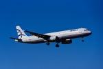 Frankspotterさんが、ロンドン・ヒースロー空港で撮影したエーゲ航空 A321-231の航空フォト(飛行機 写真・画像)