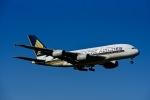 Frankspotterさんが、ロンドン・ヒースロー空港で撮影したシンガポール航空 A380-841の航空フォト(飛行機 写真・画像)