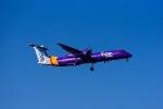 Frankspotterさんが、ロンドン・ヒースロー空港で撮影したフライビー DHC-8-402Q Dash 8の航空フォト(飛行機 写真・画像)