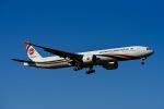 Frankspotterさんが、ロンドン・ヒースロー空港で撮影したビーマン・バングラデシュ航空 777-3E9/ERの航空フォト(飛行機 写真・画像)