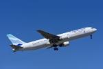 Frankspotterさんが、リスボン・ウンベルト・デルガード空港で撮影したユーロアトランティック・エアウェイズ 767-34P/ERの航空フォト(飛行機 写真・画像)