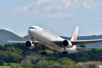 Dojalanaさんが、函館空港で撮影した日本航空 767-346の航空フォト(写真)