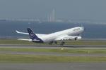 とりてつさんが、中部国際空港で撮影したルフトハンザドイツ航空 A340-313Xの航空フォト(飛行機 写真・画像)