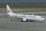 とりてつさんが、中部国際空港で撮影した日本航空 737-846の航空フォト(飛行機 写真・画像)