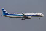 mameshibaさんが、羽田空港で撮影した全日空 A321-272Nの航空フォト(写真)