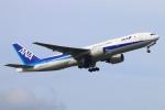 Kuuさんが、鹿児島空港で撮影した全日空 777-281/ERの航空フォト(写真)