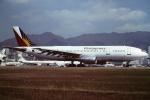 tassさんが、啓徳空港で撮影したフィリピン航空 A300B4-203の航空フォト(飛行機 写真・画像)