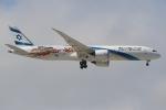 ぽんさんが、成田国際空港で撮影したエル・アル航空 787-9の航空フォト(写真)