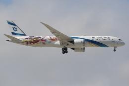 ぽんさんが、成田国際空港で撮影したエル・アル航空 787-9の航空フォト(飛行機 写真・画像)