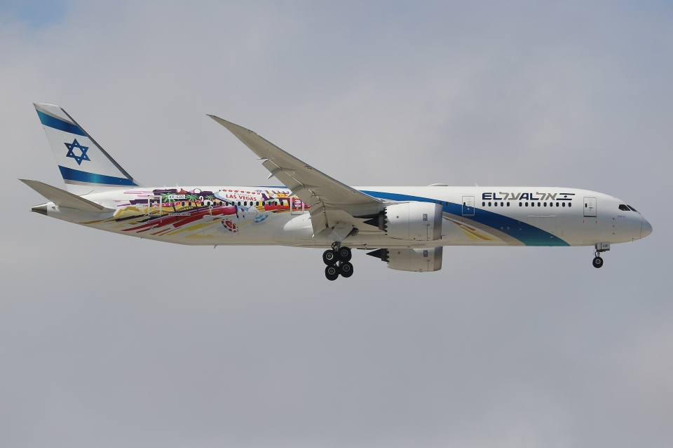 ぽんさんのエル・アル航空 Boeing 787-9 (4X-EDD) 航空フォト