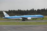 TAKA-Kさんが、成田国際空港で撮影したKLMオランダ航空 777-306/ERの航空フォト(写真)