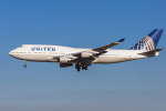 mameshibaさんが、成田国際空港で撮影したユナイテッド航空 747-422の航空フォト(飛行機 写真・画像)