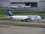カップメーンさんが、羽田空港で撮影した全日空 767-381/ER(BCF)の航空フォト(飛行機 写真・画像)