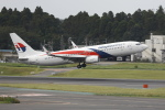 TAKA-Kさんが、成田国際空港で撮影したマレーシア航空 737-8H6の航空フォト(写真)