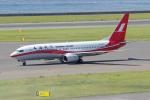 yabyanさんが、中部国際空港で撮影した上海航空 737-8Q8の航空フォト(飛行機 写真・画像)