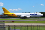 Hide.Oさんが、成田国際空港で撮影したポーラーエアカーゴ 747-46NF/SCDの航空フォト(写真)