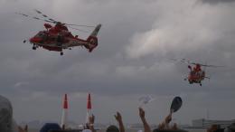 SVMさんが、幕張海浜公園で撮影した千葉市消防航空隊 AS365N3 Dauphin 2の航空フォト(飛行機 写真・画像)