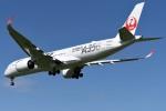 さくらの城南山。さんが、成田国際空港で撮影した日本航空 A350-941XWBの航空フォト(写真)