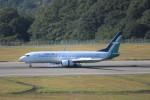 ヒロジーさんが、広島空港で撮影したシルクエア 737-8SAの航空フォト(飛行機 写真・画像)