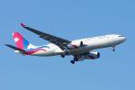 ladyinredさんが、成田国際空港で撮影したネパール航空 A330-243の航空フォト(飛行機 写真・画像)