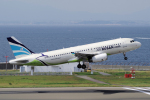 yabyanさんが、中部国際空港で撮影したエアプサン A320-232の航空フォト(飛行機 写真・画像)