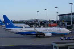 JA8037さんが、杭州蕭山国際空港で撮影した厦門航空 737-85Cの航空フォト(飛行機 写真・画像)