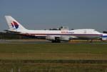 tassさんが、成田国際空港で撮影したマレーシア航空 747-4H6F/SCDの航空フォト(飛行機 写真・画像)