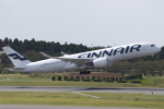 ANA744Foreverさんが、成田国際空港で撮影したフィンエアー A350-941XWBの航空フォト(写真)