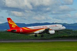 HS888さんが、鹿児島空港で撮影した香港航空 A320-214の航空フォト(飛行機 写真・画像)