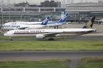 sky-spotterさんが、羽田空港で撮影したシンガポール航空 777-312/ERの航空フォト(写真)