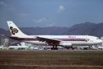 tassさんが、啓徳空港で撮影したタイ国際航空 A300B4-103の航空フォト(飛行機 写真・画像)