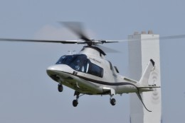 ヘリオスさんが、東京ヘリポートで撮影した日本法人所有 A109E Powerの航空フォト(飛行機 写真・画像)