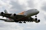 kuro2059さんが、クアラルンプール国際空港で撮影したエミレーツ航空 A380-861の航空フォト(飛行機 写真・画像)