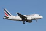 安芸あすかさんが、パリ オルリー空港で撮影したエールフランス航空 A318-111の航空フォト(写真)