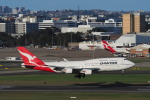 yonsuさんが、シドニー国際空港で撮影したカンタス航空 747-438/ERの航空フォト(写真)