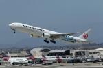 takoyanさんが、ロサンゼルス国際空港で撮影した日本航空 777-346/ERの航空フォト(写真)