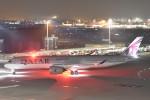 B747‐400さんが、羽田空港で撮影したカタール航空 A350-941XWBの航空フォト(写真)