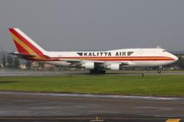 TIA spotterさんが、横田基地で撮影したカリッタ エア 747-4B5(BCF)の航空フォト(飛行機 写真・画像)