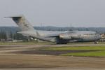 Tia spotterさんが、横田基地で撮影したアメリカ空軍 C-17A Globemaster IIIの航空フォト(写真)