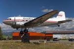 BOSTONさんが、ホワイトホース国際空港で撮影したカナディアン・パシフィック・エアラインズ DC-3の航空フォト(飛行機 写真・画像)