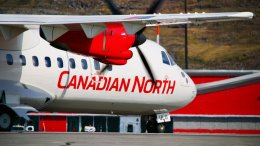 BOSTONさんが、イカルイト空港で撮影したカナディアン・ノース ATR-42-300の航空フォト(飛行機 写真・画像)