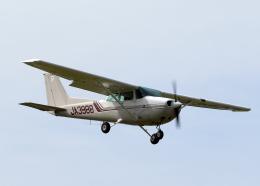 tuckerさんが、龍ケ崎飛行場で撮影した新中央航空 172P Skyhawkの航空フォト(飛行機 写真・画像)