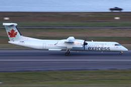 masa707さんが、ポートランド国際空港で撮影したエア・カナダ・エクスプレス DHC-8-402Q Dash 8の航空フォト(飛行機 写真・画像)