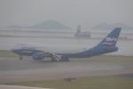 OS52さんが、香港国際空港で撮影したシルクウェイ・ウェスト・エアラインズ 747-83QFの航空フォト(写真)