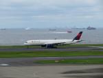カップメーンさんが、羽田空港で撮影したデルタ航空 A350-941XWBの航空フォト(写真)