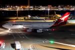 KAW-YGさんが、羽田空港で撮影したカンタス航空 747-438の航空フォト(飛行機 写真・画像)