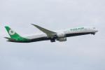 武彩航空公司(むさいえあ)さんが、成田国際空港で撮影したエバー航空 787-10の航空フォト(写真)