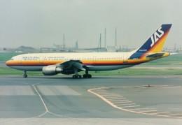 エルさんが、羽田空港で撮影した日本エアシステム A300B4-2Cの航空フォト(飛行機 写真・画像)